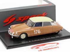Citroen ID 19 #176 Vinder Rallye Monte Carlo 1959 Coltelloni, Alexandre, Desrosiers 1:43 Spark