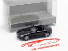 Mercedes-Benz AMG GTS Roadster Opførselsår 2015 sort 1:87 Minichamps