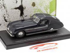 Talbot Lago T26 Grand Sport Coupe año de construcción 1949 azul oscuro 1:43 AutoCult