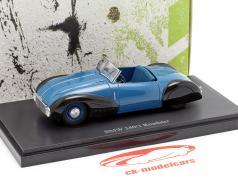 BMW 340/1 roadster année de construction 1949 bleu / noir 1:43 AutoCult