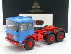 M.A.N. 16304 (F7) Tractor year 1972 blue / red 1:18 Road Kings