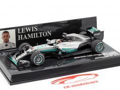 L. Hamilton Mercedes AMG F1 W07 #44 australien GP formule 1 2016 1:43 Minichamps