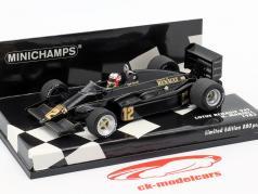 Nigel Mansell Lotus 94T #12 fórmula 1 1983 1:43 Minichamps