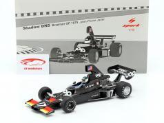 Jean-Pierre Jarier Shadow DN5 #17 brasileño GP fórmula 1 1975 1:18 Spark