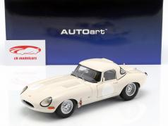 Jaguar Lightweight E-Type con removibile top bianco 1:18 AUTOart