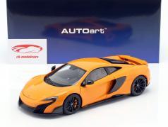 McLaren 675LT anno di costruzione 2016 McLaren arancione 1:18 AUTOart