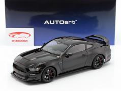 Ford Mustang Shelby GT350R 築 2017 黒 / マット 黒 1:18 AUTOart