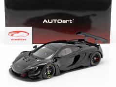 McLaren 650S GT3 anno di costruzione 2017 lucidare nero 1:18 AUTOart