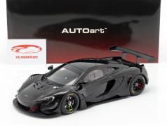 McLaren 650S GT3 año de construcción 2017 brillo negro 1:18 AUTOart