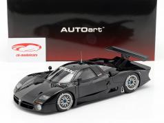 Nissan R390 GT1 LeMans anno di costruzione 1998 lucidare nero 1:18 AUTOart