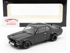 Nissan Skyline GT-R (KPGC-10) Racing ano de construção 1972 preto 1:18 AUTOart