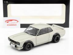 Nissan Skyline GT-R (KPGC-10) Racing año de construcción 1972 plata 1:18 AUTOart