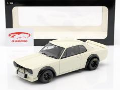 Nissan Skyline GT-R (KPGC-10) Racing 築 1972 白 1:18 AUTOart