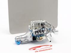 Ford Mustang Gasser Twin Turbo 429 Drag motor og transmission (GMP 18913) 1:18 GMP