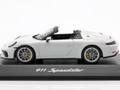 Porsche 911 (991 II) Speedster année de construction 2019 blanc 1:43 Spark