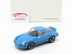 Porsche 911 Carrera RS year 1973 underglaze blue 1:24 Welly
