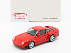 Porsche 959 year 1986-88 guards red 1:24 Welly