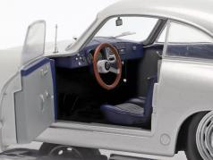 Porsche 356 PRE-A 建造年份 1953 银 1:18 Solido