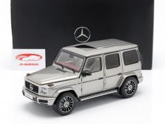 Mercedes-Benz G-Class W463 40 años 2019 mojave plata metálico 1:18 Minichamps