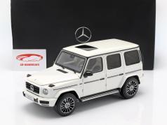 Mercedes-Benz Classe G W463 40 anni 2019 diamante bianco luminoso 1:18 Minichamps