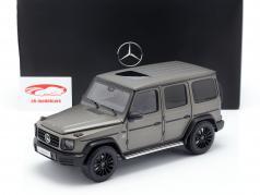 Mercedes-Benz Classe G W463 40 anni 2019 monza grigio magno 1:18 Minichamps