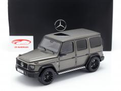 Mercedes-Benz G-Class W463 40 years 2019 monza grey magno 1:18 Minichamps