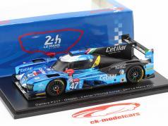Dallara P217 #47 24h LeMans 2018 Lacorte, Sernagiotto, Nasr 1:43 Spark