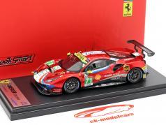 Ferrari 488 GTE #71 24h LeMans 2018 Rigon, Bird, Molina 1:43 LookSmart