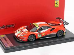 Ferrari 488 GTE #52 24h LeMans 2018 Vilander, Derani, Giovinazzi 1:43 LookSmart