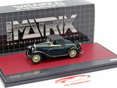 Bugatti Type 40 Roadster year 1921 black / yellow 1:43 Matrix