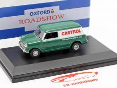 Austin Minivan Castrol verde / branco 1:43 Oxford