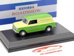 Austin Minivan Southdown Fleet Support vert / jaune 1:43 Oxford