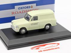 Ford Anglia van London Transport creme branco 1:43 Oxford
