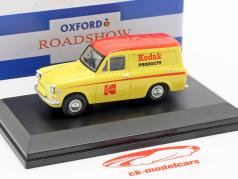 Ford Anglia van Kodak gul / rød 1:43 Oxford