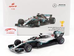 Lewis Hamilton Mercedes-AMG F1 W09 EQ #44 Winner Azerbaijan GP F1 2018 1:18 Spark 2. elección