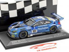 BMW M6 GT3 #101 24h Nürburgring 2016 Yamauchi, Henkola, Richardson, Sandritter 1:43 Minichamps