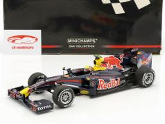 Mark Webber Red Bull RB6 #6 Showcar 2010 1:18 Minichamps 2nd choice