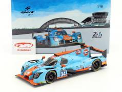 Ligier JSP217 #34 24h LeMans 2017 Moore, Hanson, Chandhok 1:18 Spark 2. elección
