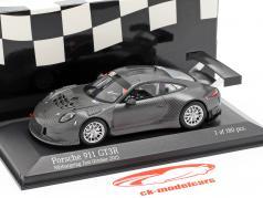 Porsche 911 (991) GT3 R #161 Nürburgring Test Car outubro 2015 1:43 Minichamps