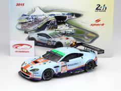 Aston Martin V8 Vantage #98 24h LeMans 2015 Dalla Lana, Lamy, Lauda 1:18 Spark 2. eleição