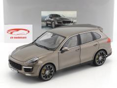 Porsche Cayenne Turbo S umbra metálico 1:18 Minichamps 2. eleição