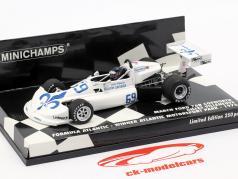 G. Villeneuve March Ford 76B #69 vencedor fórmula atlântico Motorsport Park 1976 1:43 Minichamps