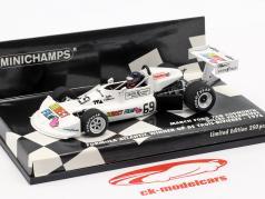 G. Villeneuve March Ford 76B #69 vencedor fórmula atlântico De Trois-Rivieres 1976 1:43 Minichamps