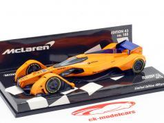 McLaren MP-X2 Concept Car fórmula 1 2018 1:43 Minichamps