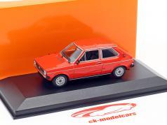 Volkswagen VW Polo Bouwjaar 1979 rood 1:43 Minichamps