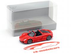 Porsche 918 Spyder ano de construção 2013 vermelho 1:87 Minichamps