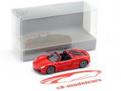 Porsche 918 Spyder Opførselsår 2013 rød 1:87 Minichamps