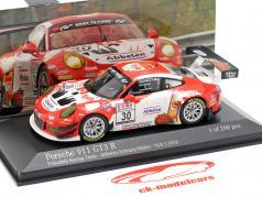 Porsche 911 (991) GT3 R #30 VLN 3 Nürburgring 2018 Frikadelli Racing 1:43 Minichamps