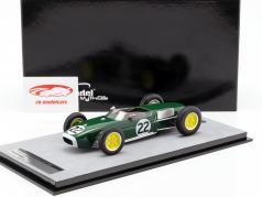 Ron Flockhart Lotus 18 #22 français GP formule 1 1960 1:18 Tecnomodel