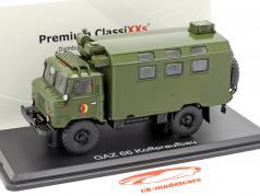GAZ 66 Kofferaufbau NVA truck militair voertuig donker olijf 1:43 Premium ClassiXXs